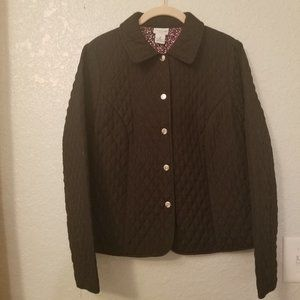 Kim Rogers Lightweight Quilted Jacket Size PM